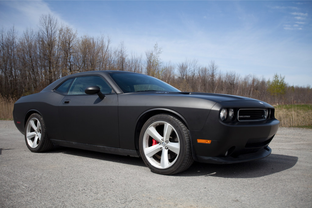 Dodge Challenger Matte Black 3m Dodge Challenger Matte Flickr