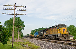 UP 9247, NS Chicago District, Dunfee, Indiana | by monon738