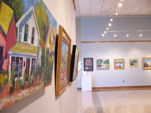 View of Tara Funk Grim's exhibition | by Delaware Division of the Arts