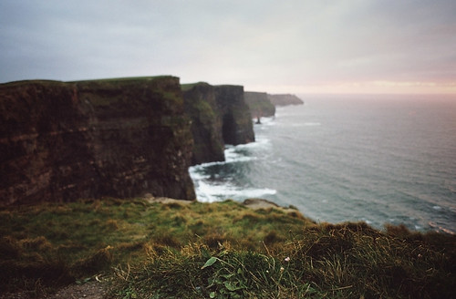 finding words along the cliffs of moher | by manyfires