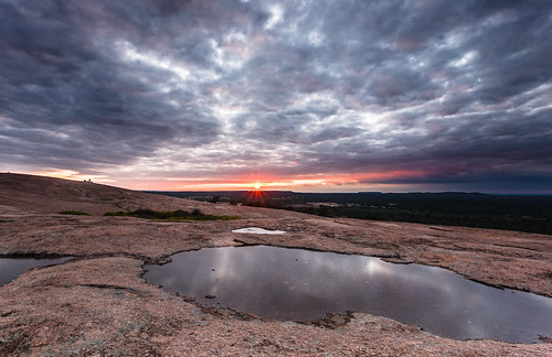 Sunset at Enchanted Rock - Fredericksburg, Texas | by Jeff Lynch
