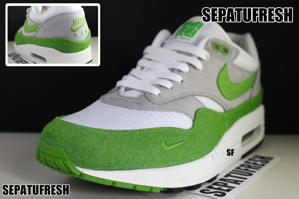 premium selection d01ee 0035f ... czech nike air max 87 1 patta green denim by sepatufresh 8067b 8ed58