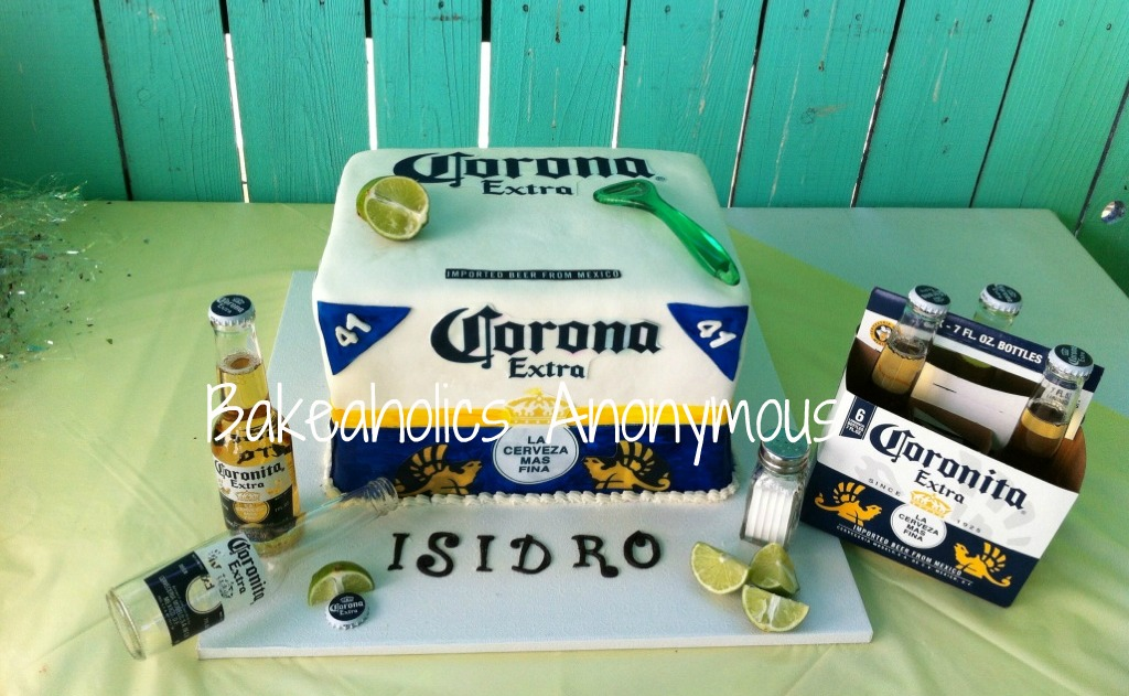 Beer Box Cake