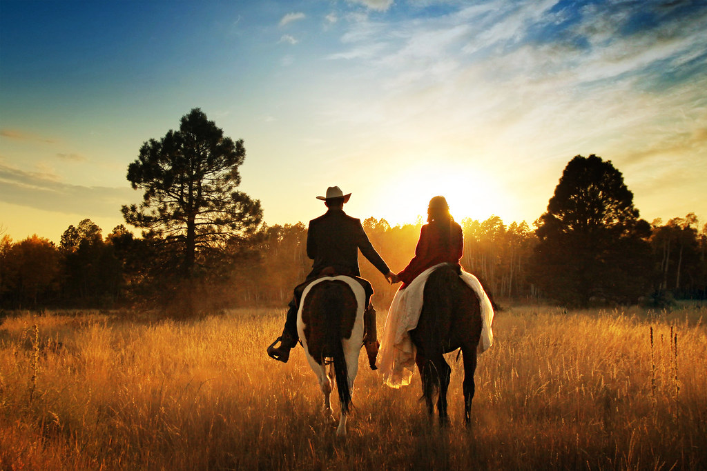 lonely for valentines day quotes - Riding into the sunset