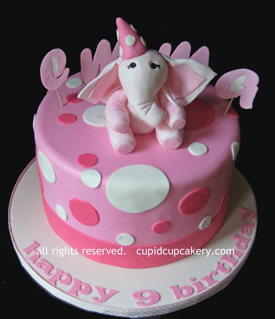 Elephant Birthday Cake Pan