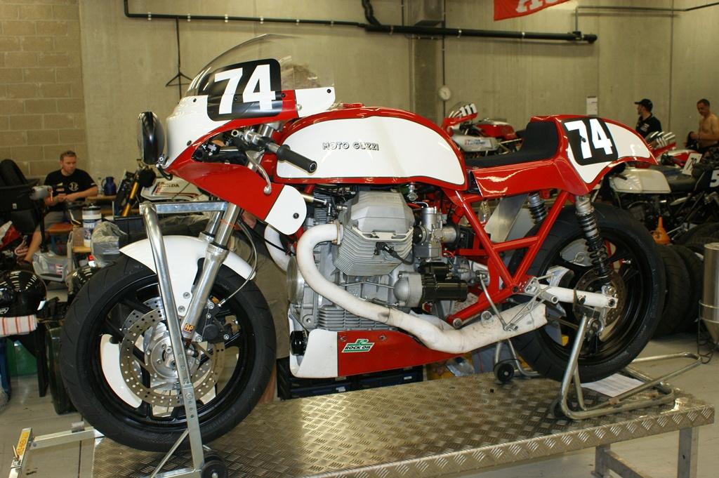 Moto Guzzi Hsm1000 Scuderia Acr 4 Endurance Martmann Eck