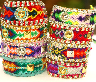 Friendship bracelets rhinestones | by Holland Fabric House
