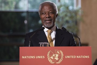 Press Conference of Kofi Annan on Syria | by UN Geneva