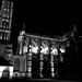 Une nuit près de la cathédrale