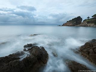 In blue on the Costa Brava | by mireba72