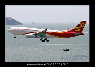 Airbus | A330-243/F | Hong Kong Airlines Cargo | B-LNW | Hong Kong | HKG | VHHH | by Christian Junker | Photography