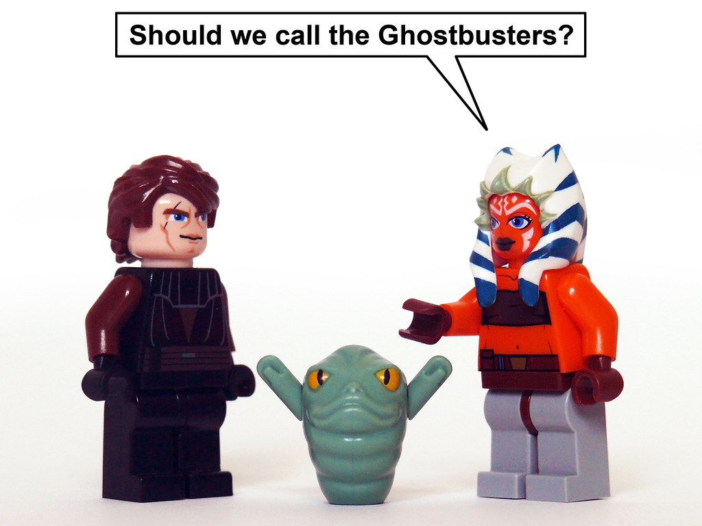 Slimer the hutt does rotta remind anyone else of a - Lego star wars anakin ghost ...