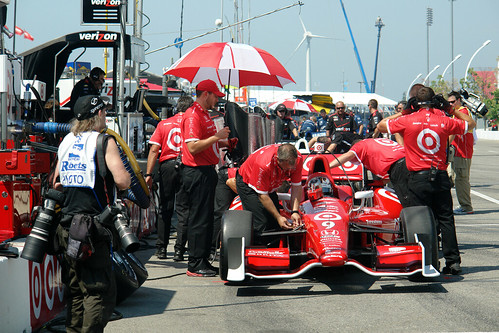 Scott Dixon in pit lane - Friday practice at the Honda Indy Toronto | by Richard Wintle