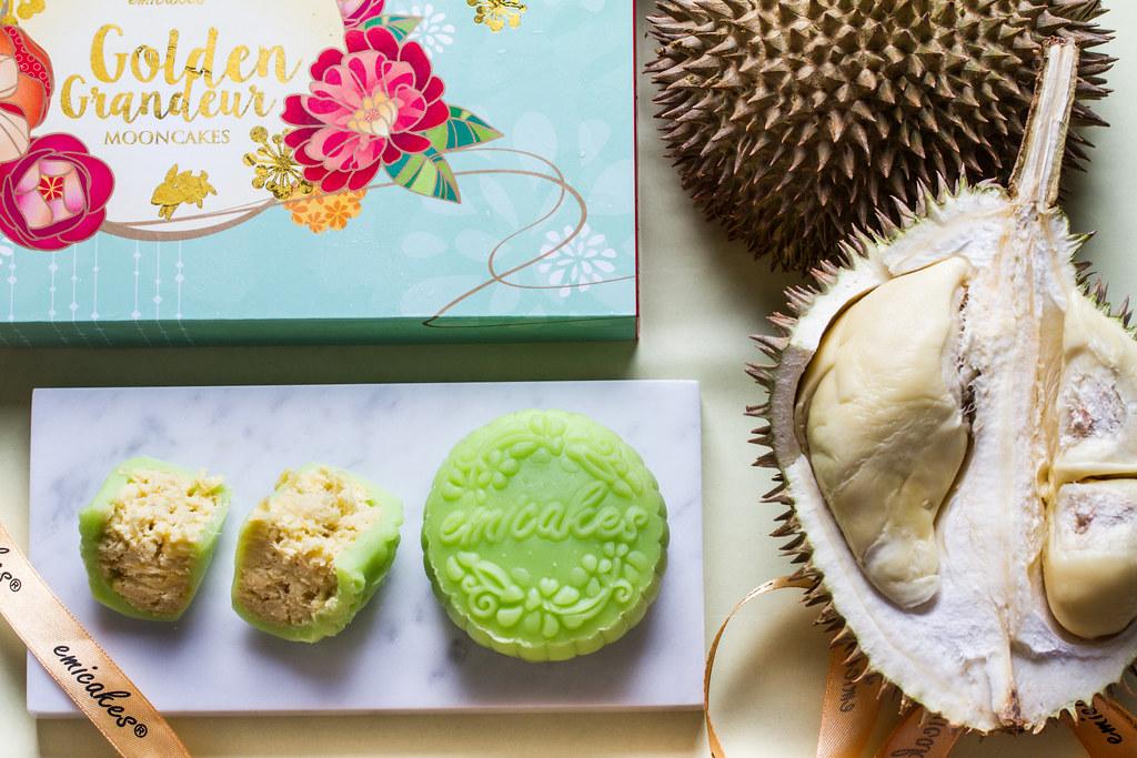 Emicakes' Snow Skin Mao Shan Wang mooncakes