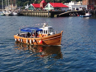 Purple Heather seal boat