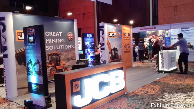 JCB Exhibit Booth
