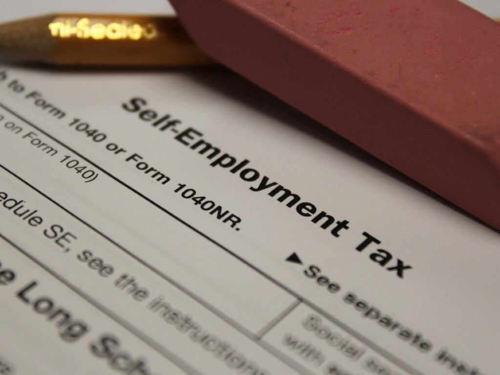 Self Employment Tax Form Schedule SE SelfEmployment Tax – Self Employment Tax Form