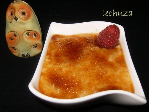 arroz con leche tostado cocina con lechuza flickr