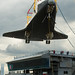 Space Shuttle Enterprise Move to Intrepid (201206060024HQ)