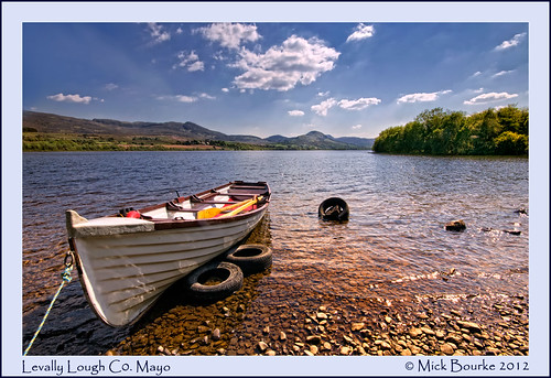 Levally Lough Co.Mayo Ireland. | by Mick Bourke.