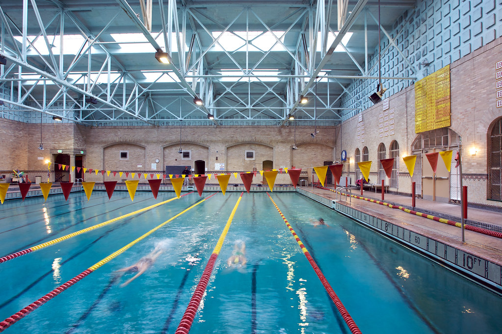 Indoor Pool Physical Education Building Indoor Pool