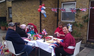 Mini Jubilee street party | by Roadgoer
