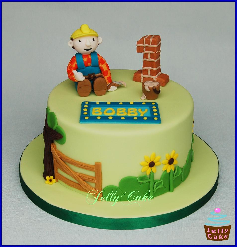 Bob The Builder Birthday Cake A Bob The Builder Cake For B Flickr