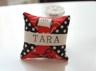 Spool pincushion for Tara | by ayumills