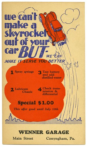 We Can't Make a Skyrocket Out of Your Car | by Alan Mays