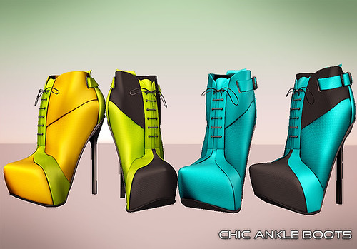 Chic Ankle Boots | by Reila Karu (Reila Skins)