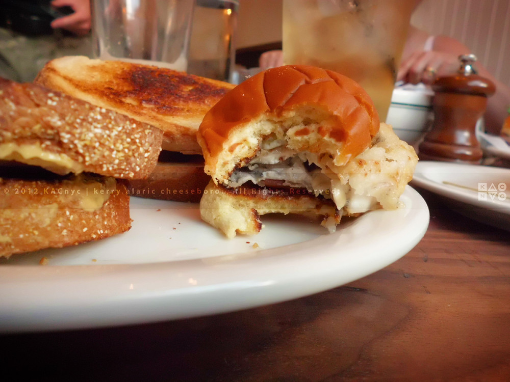 Spiced Beef Sandwich, Fried Oyster Slider | The Penrose ...