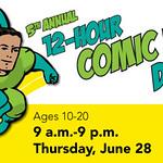 MCPL 12 Hour Comic Book Day 2012