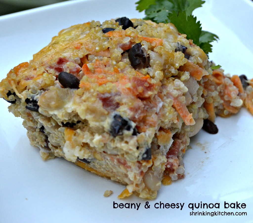 beany & cheesy quinoa bake | Heather@MamaSass | Flickr