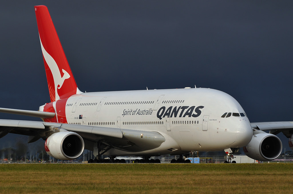Qantas Vh Oqi David Warren A380 842 9th In The Qantas