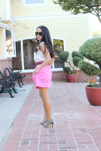 J.CrewNeonPinkBellSkirt7.jpg | by Stylish Petite