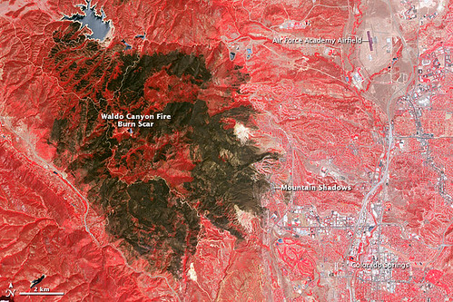 Waldo Canyon Fire Burn Scar | by NASA Goddard Photo and Video