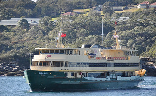 Manly Ferry Collaroy off the former Sydney Quarantine Station | by john cowper