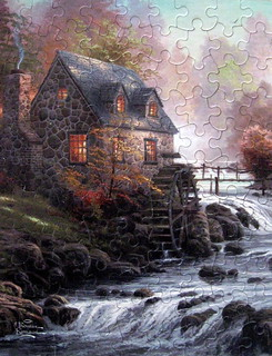 """Cobblestone Mill"" (Explore #261, July 21, 2012) 