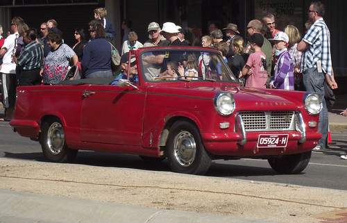 1962 Triumph Herald Convertible | by Five Starr Photos ( Aussiefordadverts)