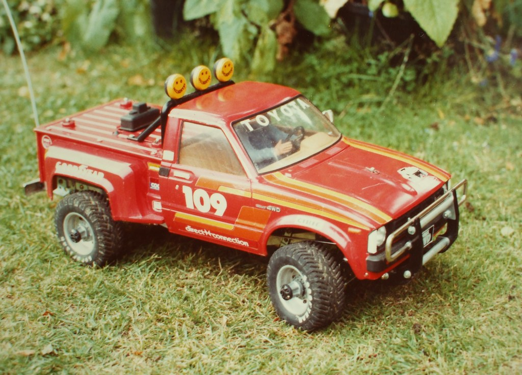 Tamiya Toyota Hilux R C 58 This Was A New Model The