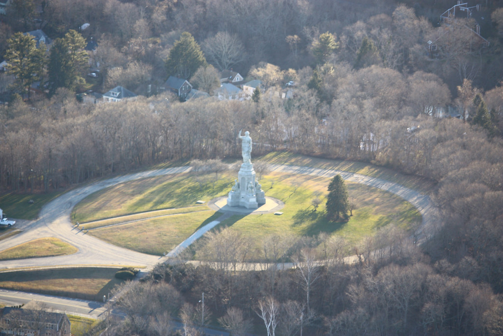 Sky View Of Forefathers Monument Pilgrim Memorial Sp Is