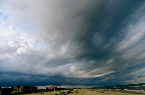 storm over St. George Island | by S.N. Akeman