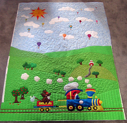 Alicia S Applique Quilt A Baby Boy Quilt That Was A Kick
