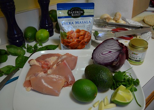 tikka masala tacos ingredients | by mhk4