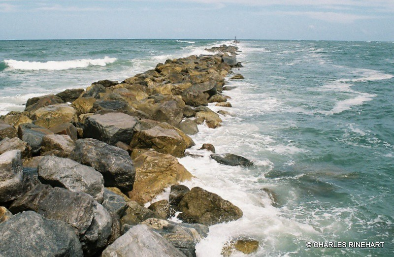 Scenic ponce inlet florida jetty ponce inlet is located for Ponce inlet fishing