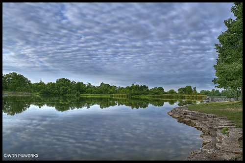 PICKEREL LAKE, PRATTS WAYNE FOREST PRESERVE, WAYNE, IL | by WDB PIXWORX