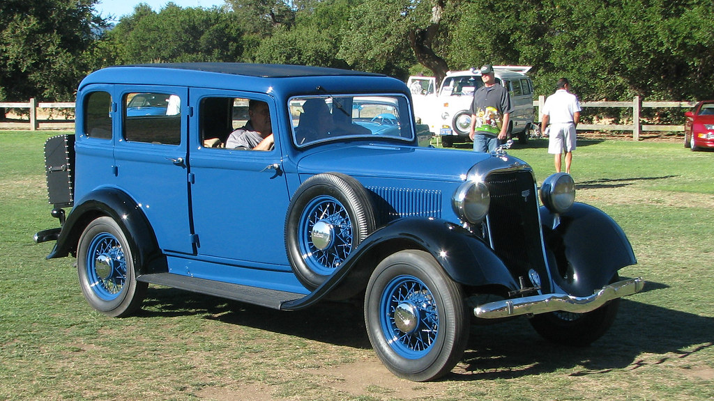 Concours D Elegance >> 1933 Dodge Brothers 6 Four Door Sedan 1 | Photographed at th… | Flickr