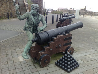 John Paul Jones Raid on Whitehaven 1778 | by woodytyke