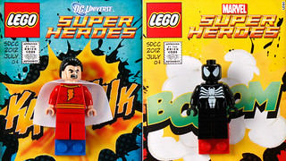 Shazam! and Venom Minifigs SDCC Exclusive | by fbtb