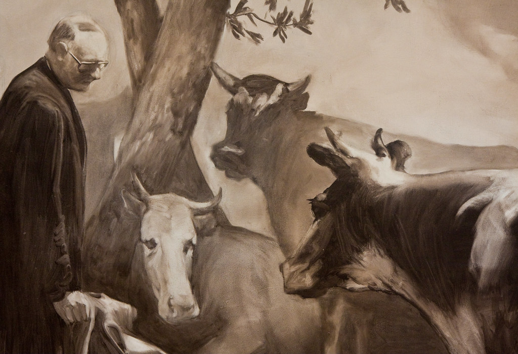Mark Tansey, The Innocent Eye Test